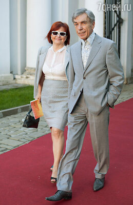 Юрий Николаев с супругой
