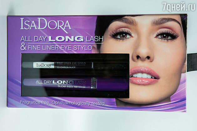 ���� ��� ������  All day long lash � ������ ������ Fine liner eye stylo �� IsaDora