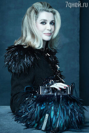 Катрин Денев для Louis Vuitton