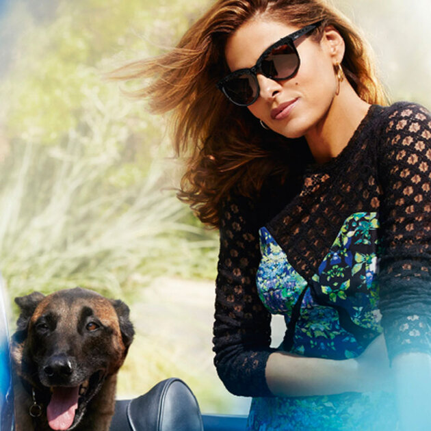 Ева Мендес  для Vogue Eyewear