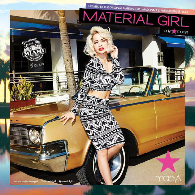 Рита Ора для  Material Girl