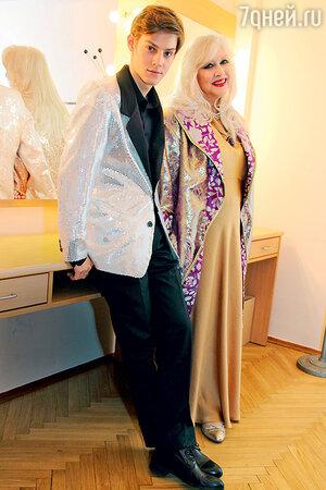 Павел Табаков и Ирина Мирошниченко