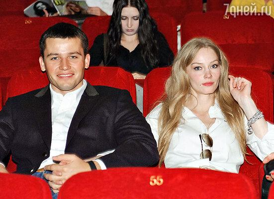 Светлана Ходченкова со своим возлюбленным Георгием