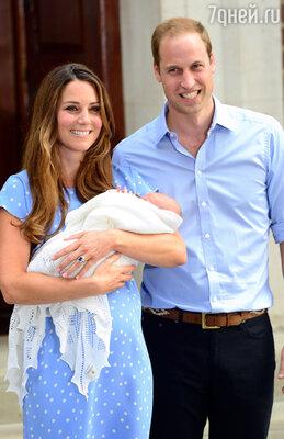 Самым долгожданным ребенком года для жителей всей Великобритании стал принц Джордж, сын принца Уильяма и Кейт Миддлтон