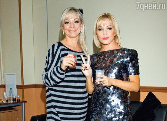 Ирина Салтыкова и Татьяна Буланова