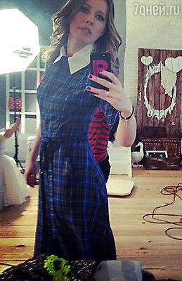 Ксения Собчак в платье Natasha Zinko