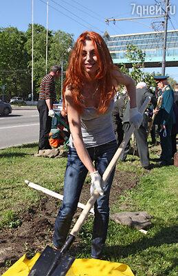 Солистка группы «Чи-Ли» Ирина Забияка
