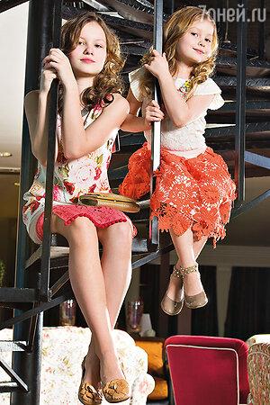 Сима (слева) и Груня