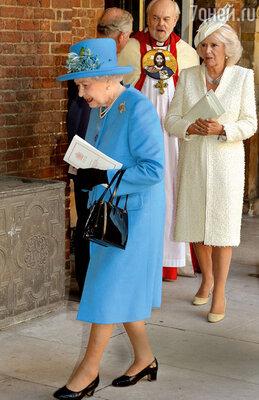 Королева Елизавета, какижена принца Чарльза Камилла, была приглашена вкачестве почетнойгостьи