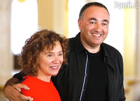 Александр Роднянский с супругой Валерией Мирошниченко