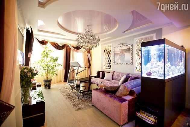Гостиная в квартире Анны Семенович