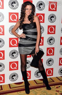 Зарубежной гостьей в этот вечер стала «Мисс Россия 2010» Ирина Антоненко