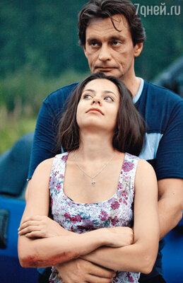 «Отец» Александр Домогаров и его экранная дочка — актриса Женя Туркова сразу нашли общий язык