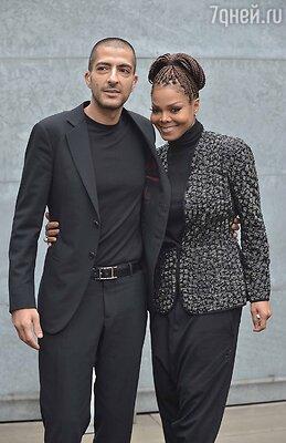 Джанет Джексон с супругом