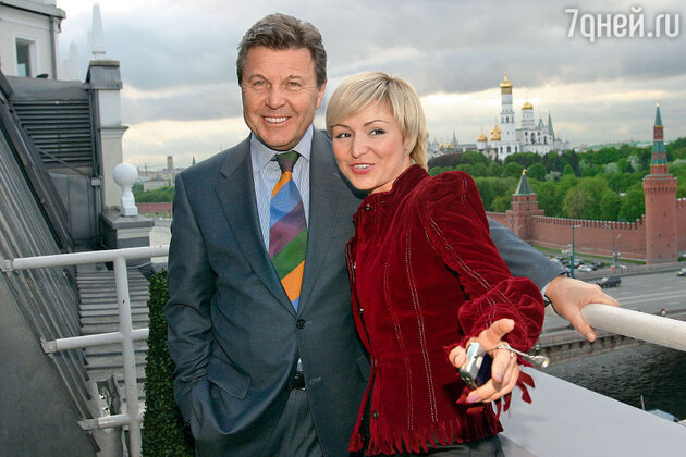Лев Лещенко и Катя Лель