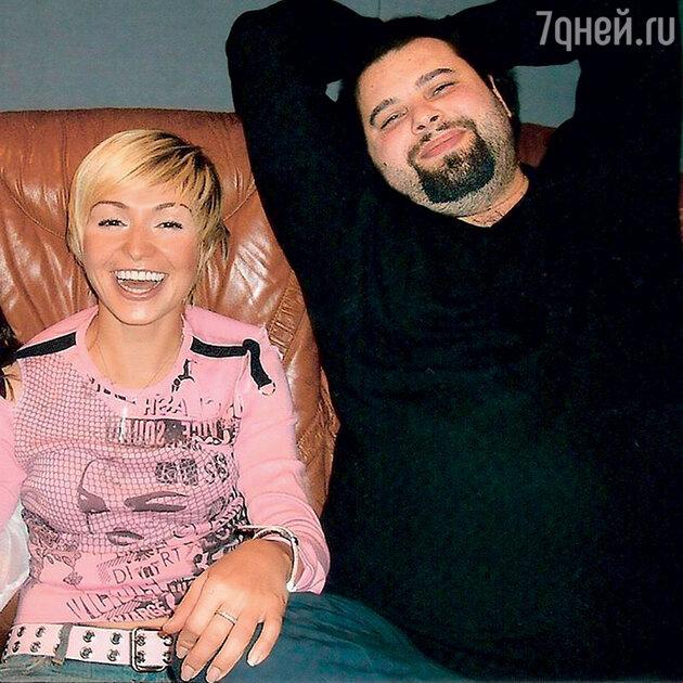 Катя Лель с Максимом Фадеевым