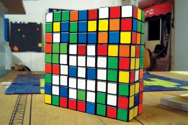 Выставка умного искусства CubeArt