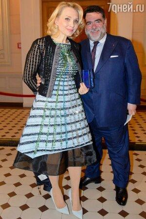 Екатерина Моисеева и Михаил Куснирович, «Золотая маска»