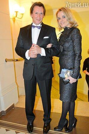 Игорь Миркурбанов со спутницей Марией, Золотая маска