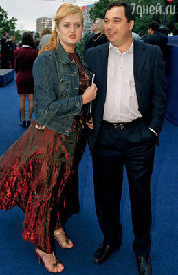 Анна с мужем Альбертом Баковым. 2005 г.