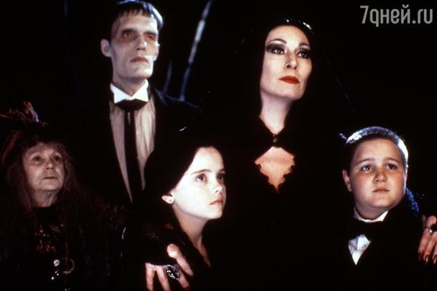 Кадр из фильма «Семейка Аддамс». 1991 г.