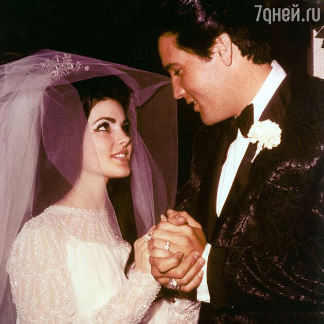 Свадьба Элвиса Пресли и Присциллы Вагнер