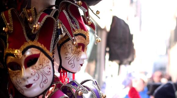 ВИДЕО: как проходит знаменитый Венецианский карнавал