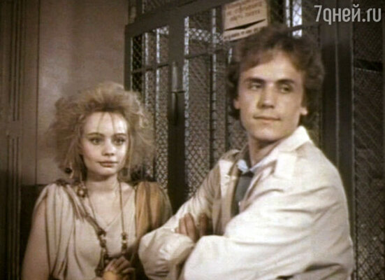 Андрей Соколов и Мария Селянская. Кадр из фильма «Она с метлой, он в черной шляпе»
