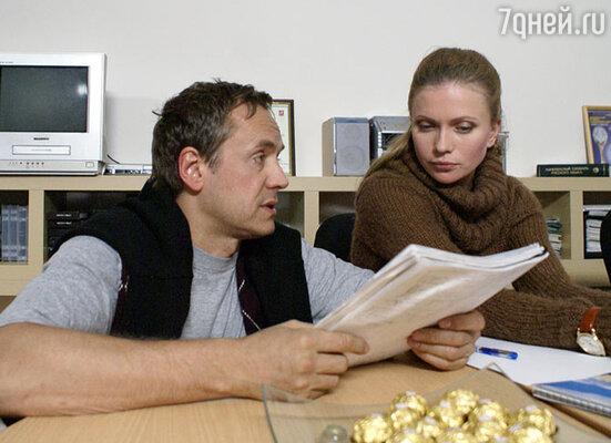 Андрей Соколов и Татьяна Черкасова в телесериале «Адвокат»