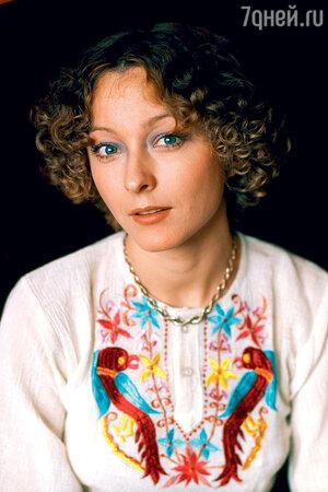 Анастасия Вертинская. 1980-е гг.