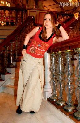 В одном из московских ресторанов. 2003 г.