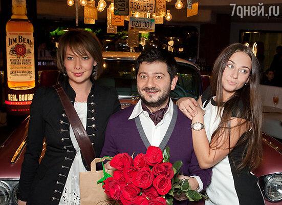 Наталья Ноздрина, Михаил Галустян и Ингрид Олеринская