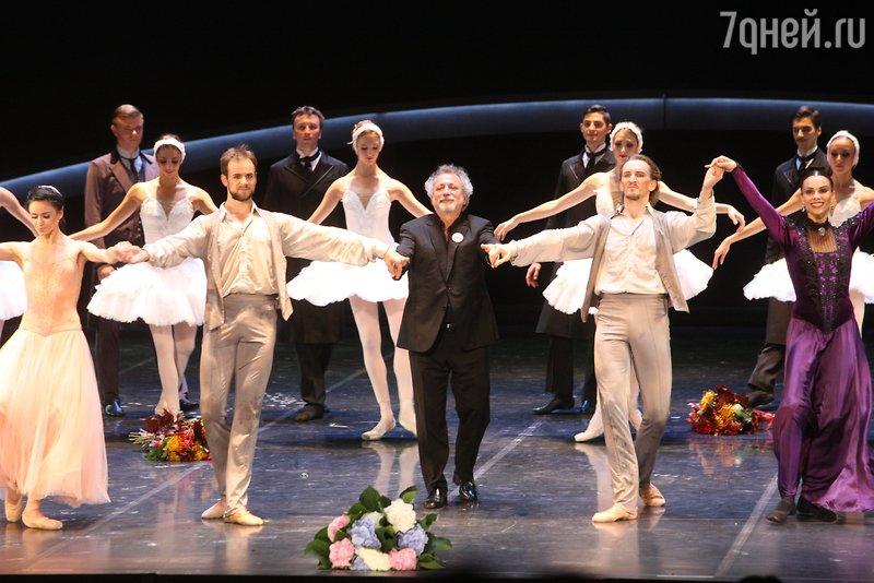 Эйфман представил в огромном театре собственный новый балет «Чайковский»