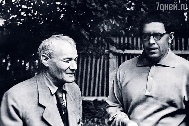 Амшей Нюренберг с Юрием Трифоновым