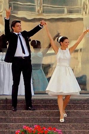 Свадьба Елизаветы Боярской и Максима Матвеева