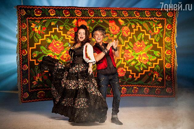 Олег Газманов и Тамара Гвердцители