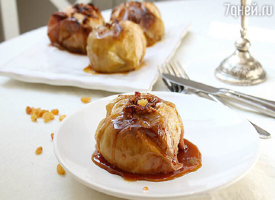 Любимый десерт Пушкина — печеные яблоки с корицей