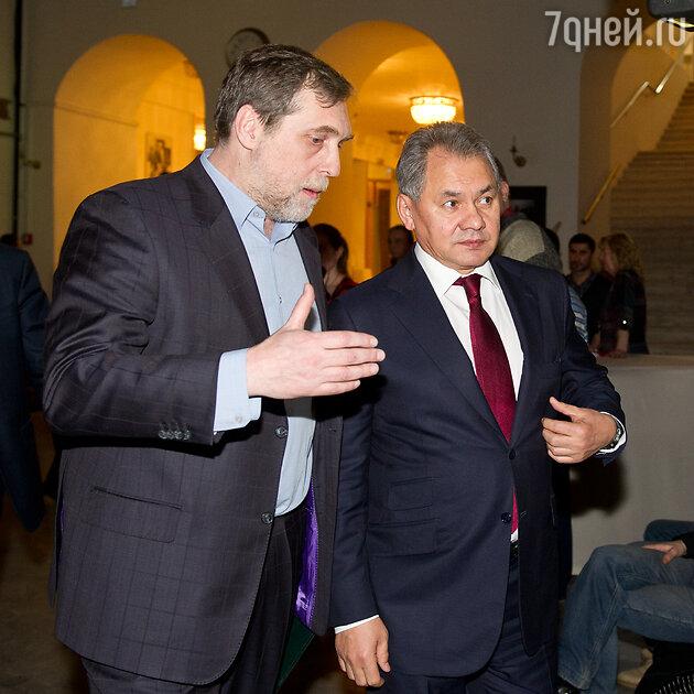 Никита Высоцкий и Сергей Шойгу