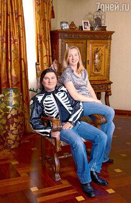 Гия Гагуа с женой Ольгой