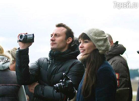 Анатолий Белый с супругой Ириной