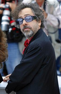 Председатель жюри Каннского фестиваля Тим Бертон