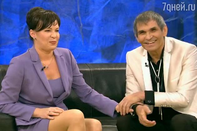 Бари Алибасов с дочерью Верой