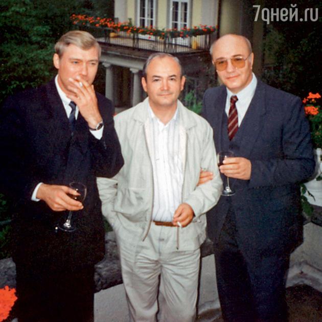 Всеволод Шиловский с Борисом Щербаковым и Леонидом Куравлевым