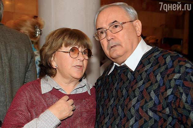 Всеволод Шиловский и Алла Сурикова