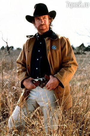 Чак Норрис в телесериале «Крутой Уокер: Правосудие по-техасски»