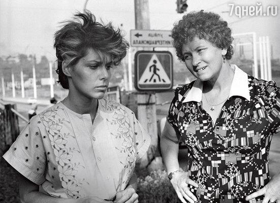 «Прочитав сценарий «Маленькой Веры», я решила отказаться от роли...» С Натальей Негодой в культовой картине 80-х годов
