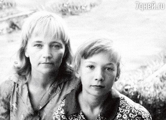 С мамой Натальей Андреевной. 1963 г.
