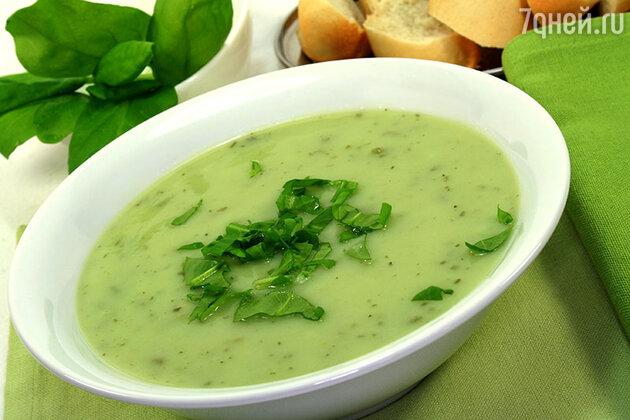Витаминный суп из щавеля