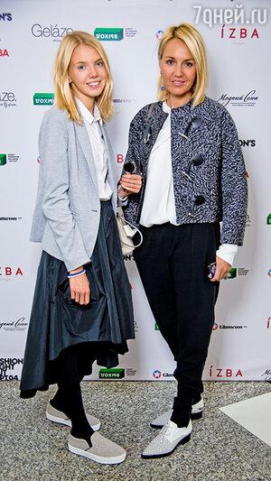 Юлия Бордовских с дочерью