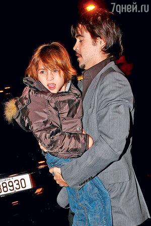 Колин Фаррелл с сыном